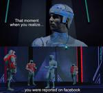 Facebook Jail by TheGodofCities1967