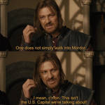 Boromir's Burn