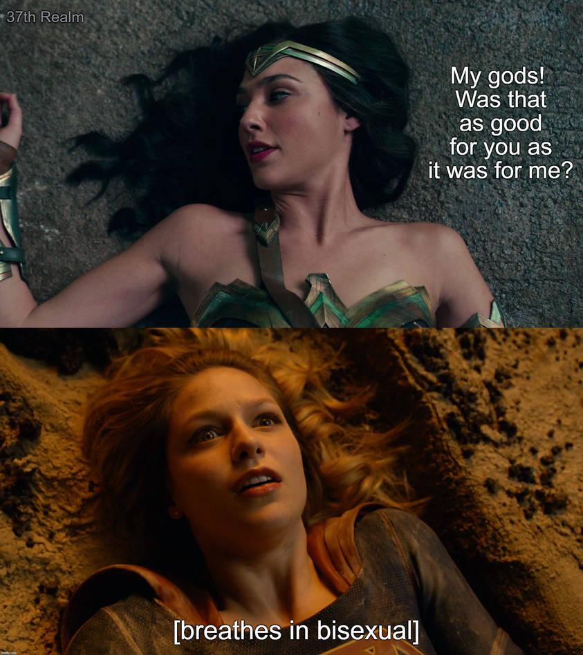 Wonder Woman x Supergirl