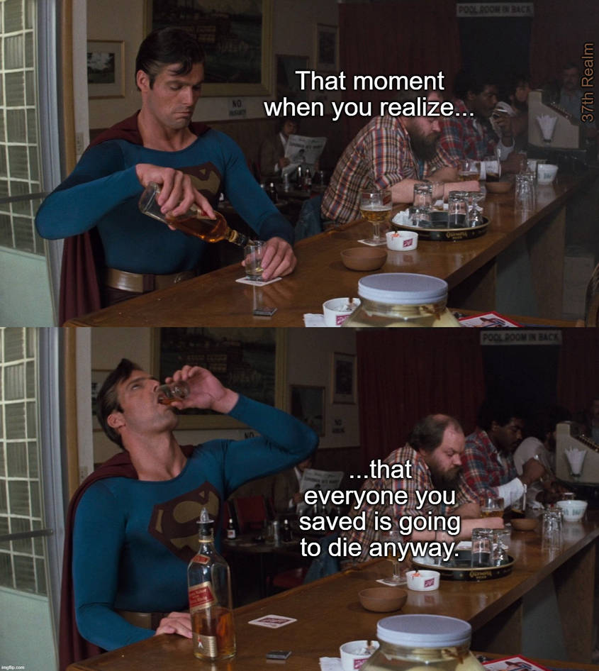 Superman knows best