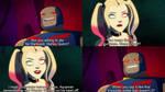 Harley Quinn vs Darkseid by TheGodofCities1967