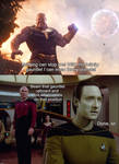 Captain Picard vs Thanos by TheGodofCities1967