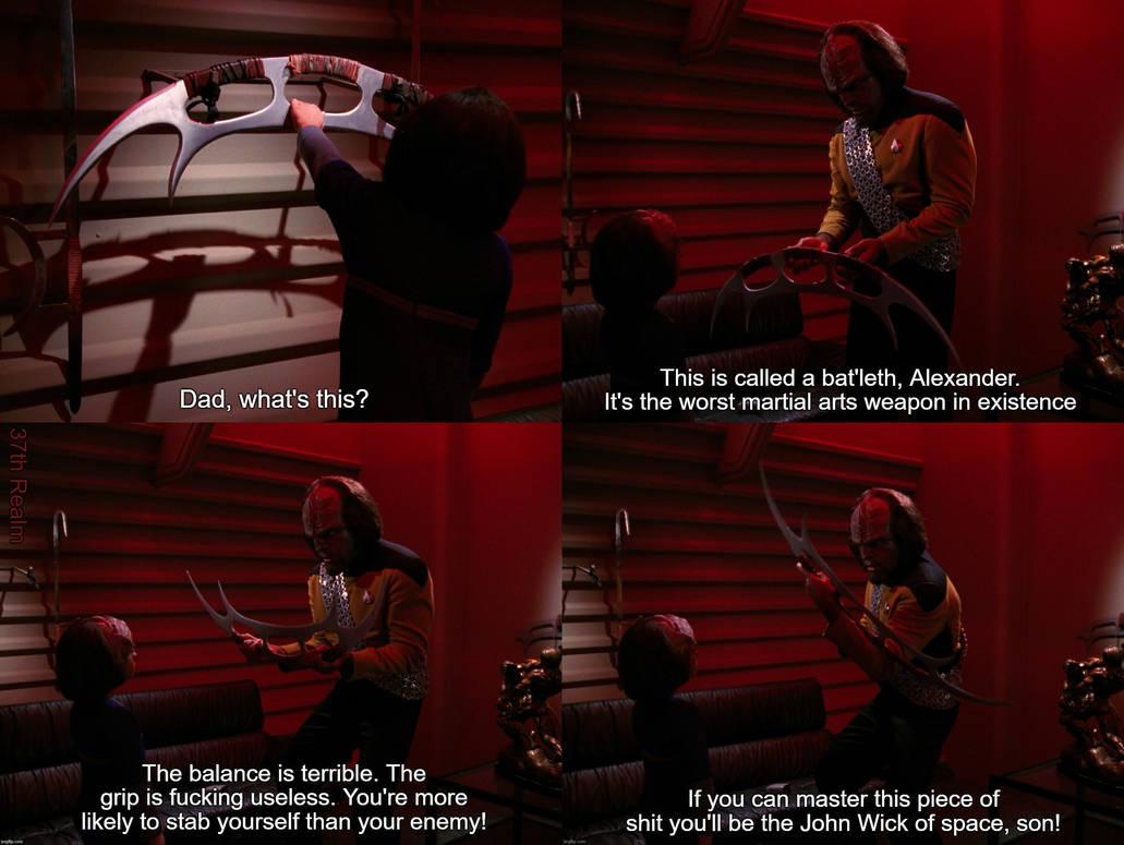 The Wisdom of Worf