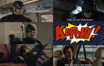 Batman vs Captain America by TheGodofCities1967