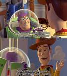 When Woody met Buzz by TheGodofCities1967