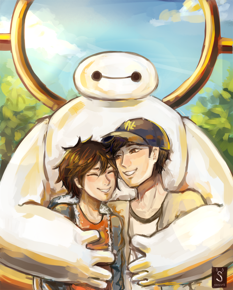 Big Hero 6 by kumosagi