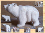 bear carving by moonshot69