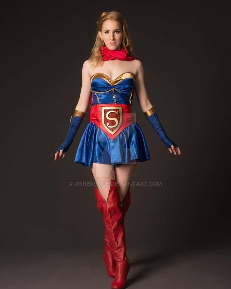 Super Girl Cosplay Victoria: Bombshell Supergirl By AsheRogue On DeviantArt