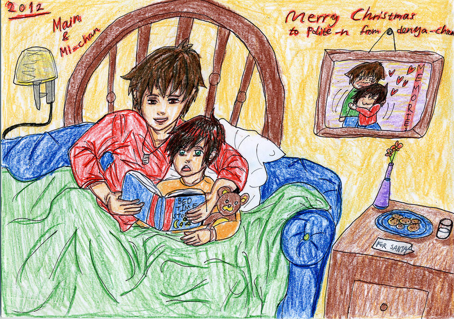 Bedtime stories by denya-chan