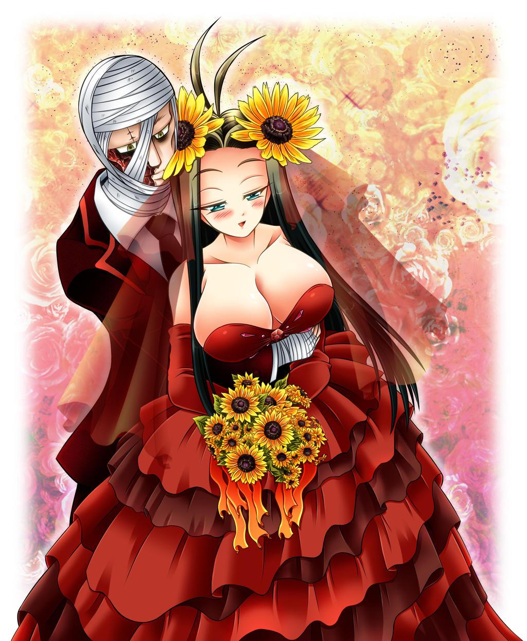 Happy wedding of Victoriano siblings by NasubiNeko