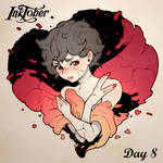 Inktober DAY 8: Frail