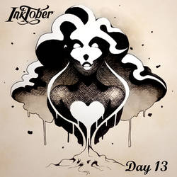 Inktober DAY 13: Ash