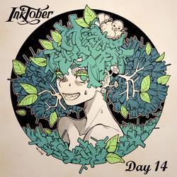 Inktober DAY 14: Overgrown