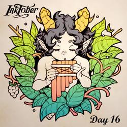 Inktober DAY 16: Wild