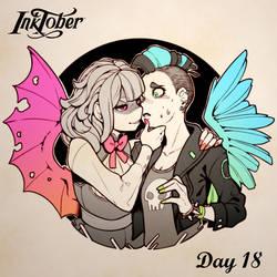 Inktober DAY 18: Misfit