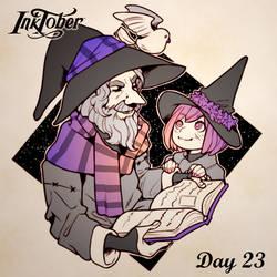 Inktober DAY 23: Ancient