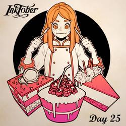 Inktober DAY 25: Tasty
