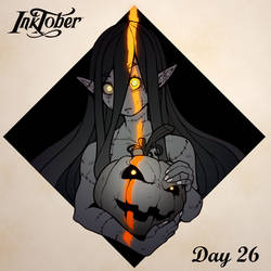 Inktober DAY 26: Dark