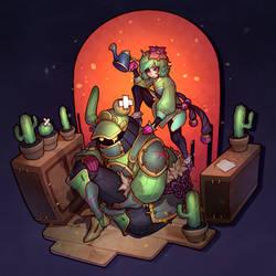 Cactus fighters