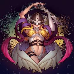 ARTTOBER #29 Angewomon