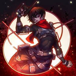 ARTTROBER #13: Mikasa AoT