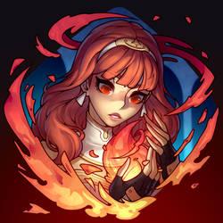 ARTTROBER #14: Celica Fire Emblem