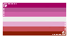 lesbian flag stamp by NovaIvyRose