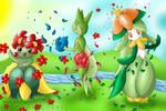 Summer Dance of Flowers