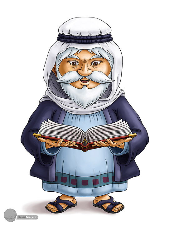 Character Design Old Man : Character design wise old man phase by davidmacedo on