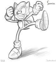 Sonic sketch.