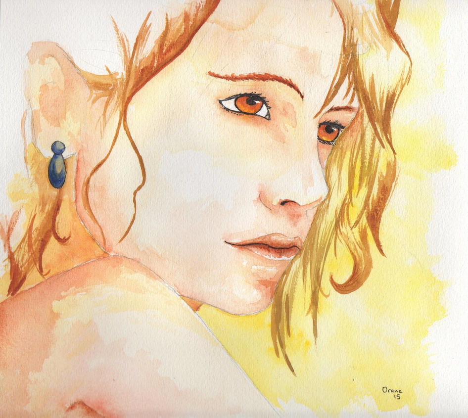 Lilianna watercolor by Dark-Louve