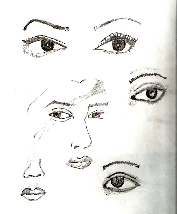 eyes is the best part by AssamART