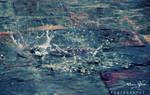 Rain Splashes by AssamART