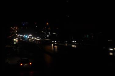 TRAFFIC IN NIGHT by AssamART