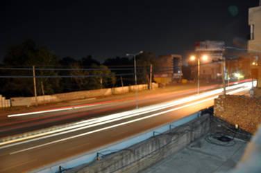 ROAD LONG EXPOSURE SHOT by AssamART