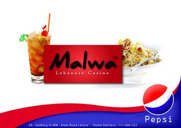 Malwa Lebneese Resturant Hoard by AssamART