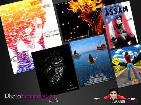 Photo-Manipulation Work