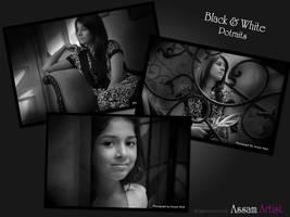 Black and White Potrait
