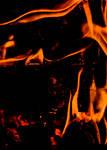 Climbing Fire Figures by silentmemoria
