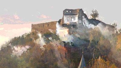 Ruined Castle Donaustauf by DJKpf