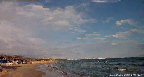 Beach Tunisia by DJKpf