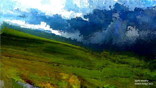 Alpine Meadow by DJKpf