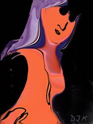 Lady in Red by DJKpf