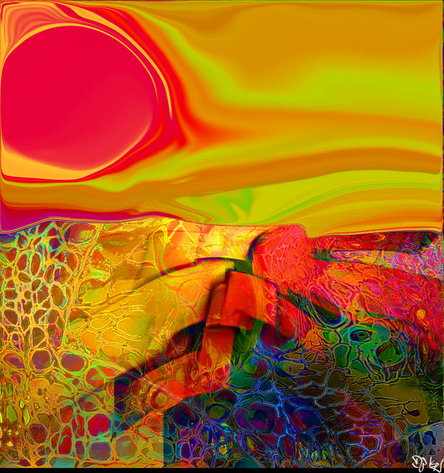 Awesom Sunset by DJKpf