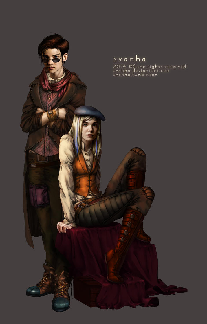 Oliver and Sara by svanha
