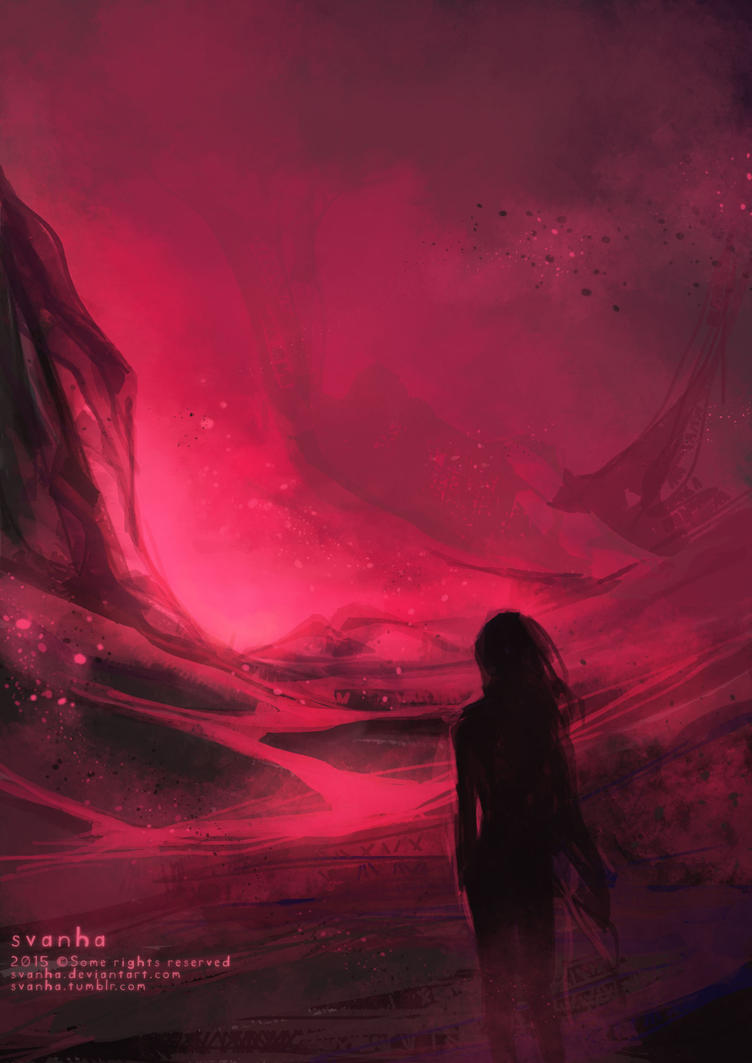 Pink plains by svanha