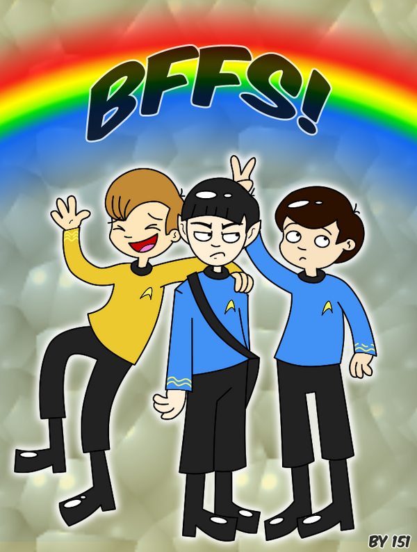 Star Trek: The Trio by Nubmuh151