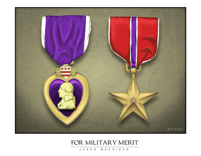 for military merit by dubtastic
