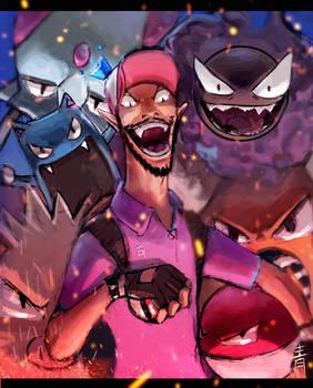 Blue Pokemon Master