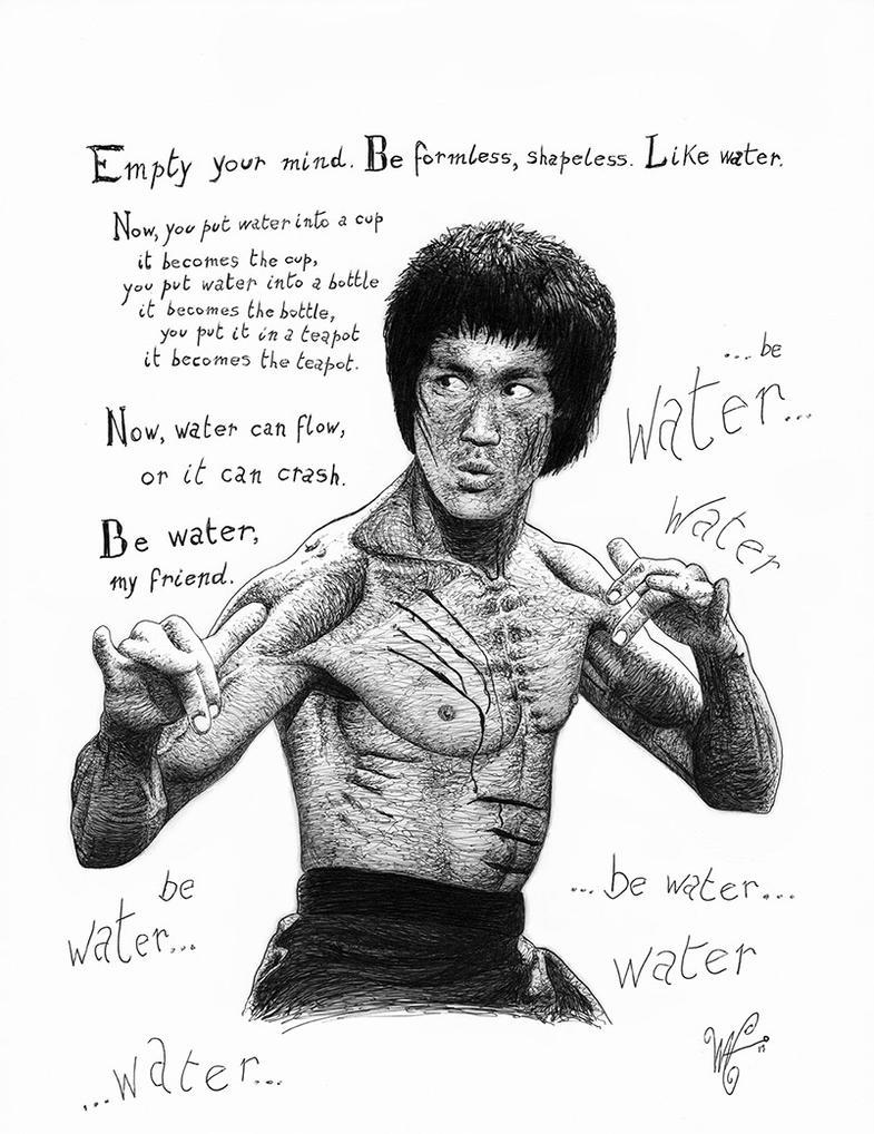 Bruce Lee by waveart